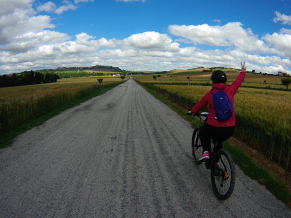 bike tour recanati